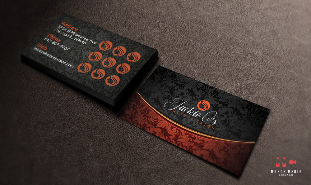 Chicago graphic design agency inc 500 company jackie os beauty salon business card design chicago marketing graphic design colourmoves