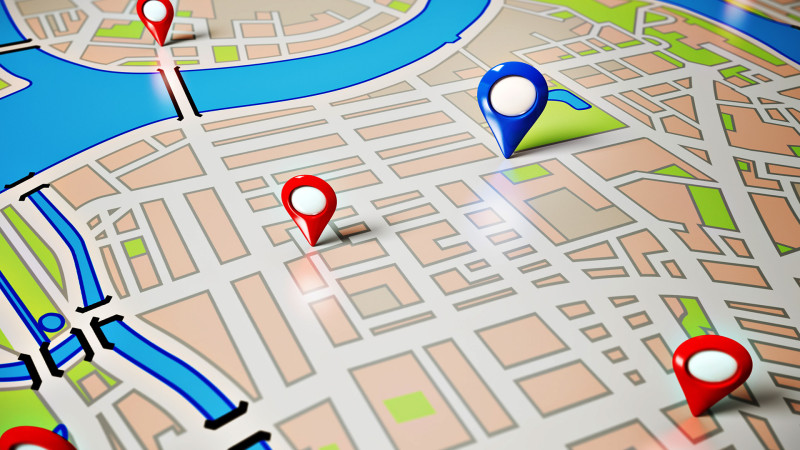 google adwords map search