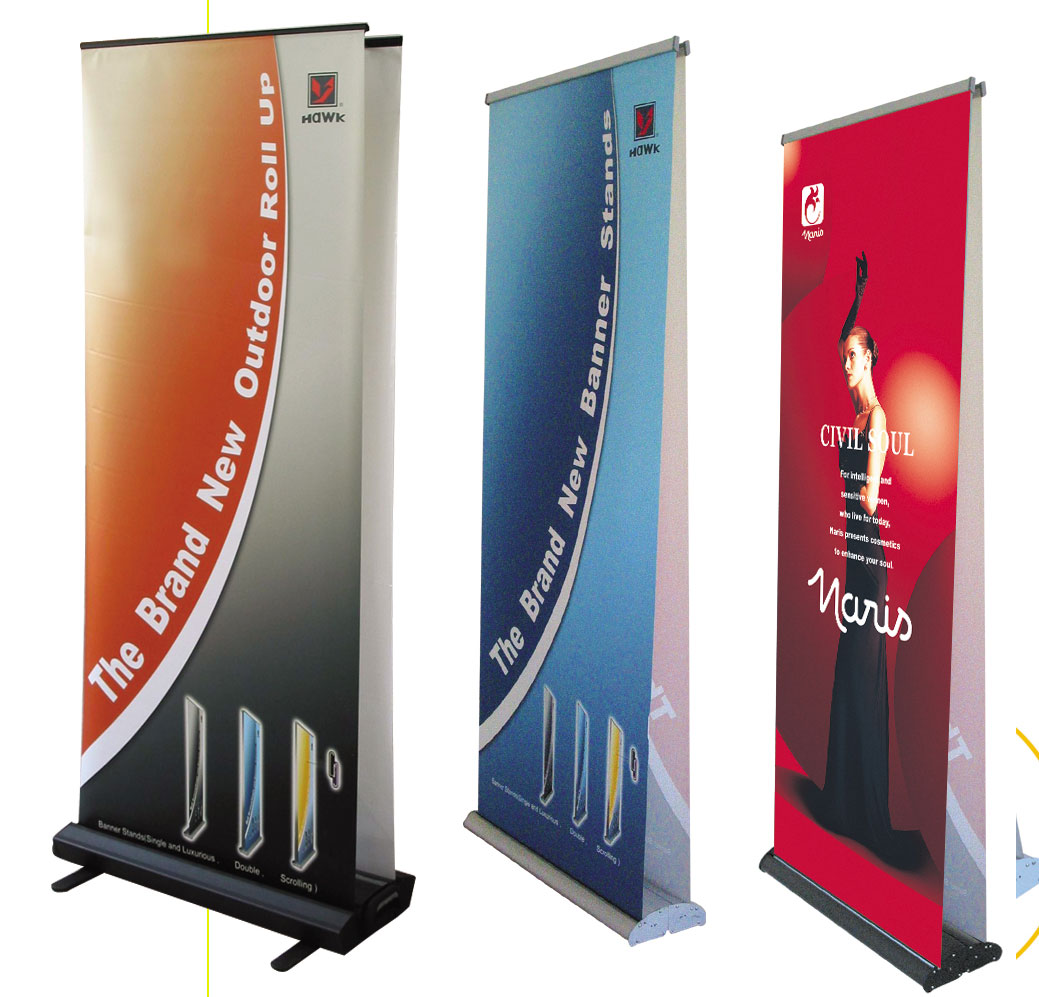 Expo Stand Banner : Chicago banner stands display printing services